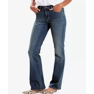 LEVI'S Boot-Cut Classic Blue Jeans size 8 Medium